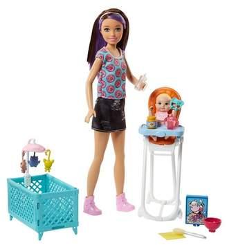 Mattel Inc. Barbie® SkipperTM Babysitters Inc.TM Doll and Playset