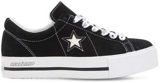 Mademe One Star Suede Platform Sneakers