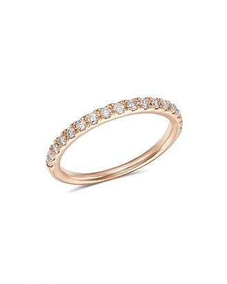 Bloomingdale's Diamond Shared Prong Stacking Band in 14K Rose Gold, 0.25 ct. t.w. - 100% Exclusive