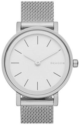 Women's Skagen 'Hald' Mesh Strap Watch, 26Mm $145 thestylecure.com