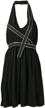 Each X Other zip trim halter dress