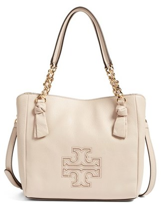 Tory Burch Small Harper Leather Satchel $395 thestylecure.com