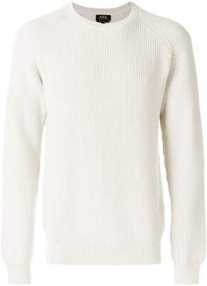 A.P.C. classic knit jumper