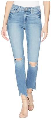 Paige Hoxton Ankle Peg w/ Worn in Hem in Janis Destructed Women's Jeans