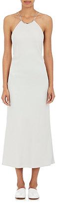 Calvin Klein Women's Kianca Crepe Choker Gown $1,995 thestylecure.com