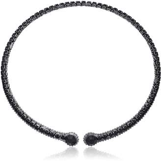 """ABS by Allen Schwartz All Choked Up"""" Take 2 Coil Choker Necklace"""