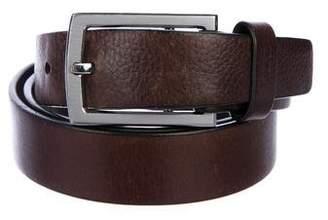 Tumi Leather Buckle Belt