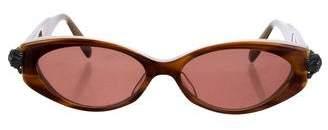 Kieselstein-Cord Croaked Sterling Silver Sunglasses