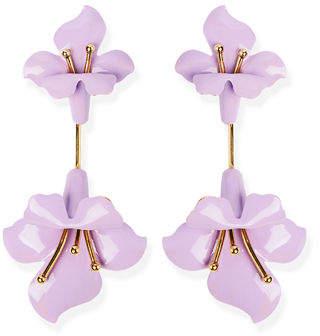 Jennifer Behr Orquida Flower Drop Earrings