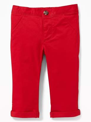 0ae5484ed58ec Old Navy Skinny Twill Chinos for Baby