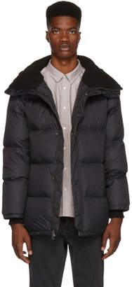 Saturdays NYC Black Silas Down Puffer Jacket