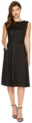 Unique Vintage Eden Sleeveless Dress Women's Dress
