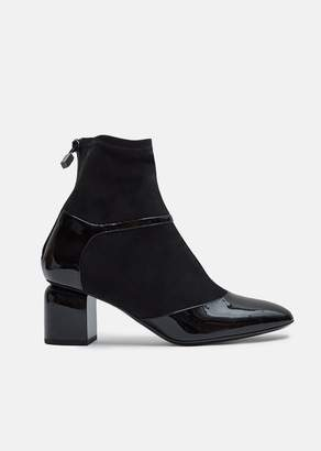 Pierre Hardy Laura Patent Ankle Boots
