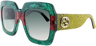 Gucci Women's Square 54Mm Sunglasses