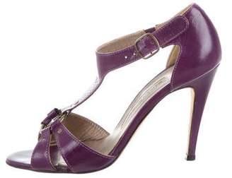 Manolo Blahnik High-Heel Cutout Sandals