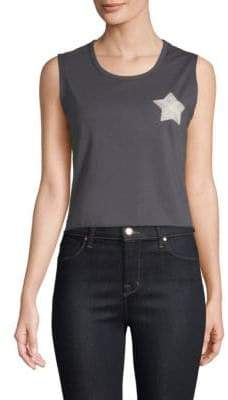 Sandrine Rose Own Your World Malibu Death Valley Cropped Tank Top