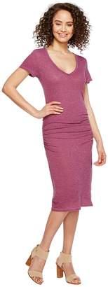 Lanston Ruched T-Shirt Dress Women's Dress