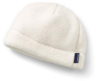 d1c8c0f5bc2c1 at Debenhams · Lands  End - Cream Cosy Sherpa Fleece Beanie Hat