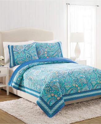 Vera Bradley Daisy Dot Paisley Twin Quilt Bedding