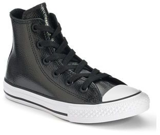 Kid's Converse Chuck Taylor All Star Stingray Leather High-Top Sneakers $40 thestylecure.com