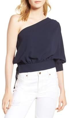Habitual Mia One-Shoulder Side Tie Top