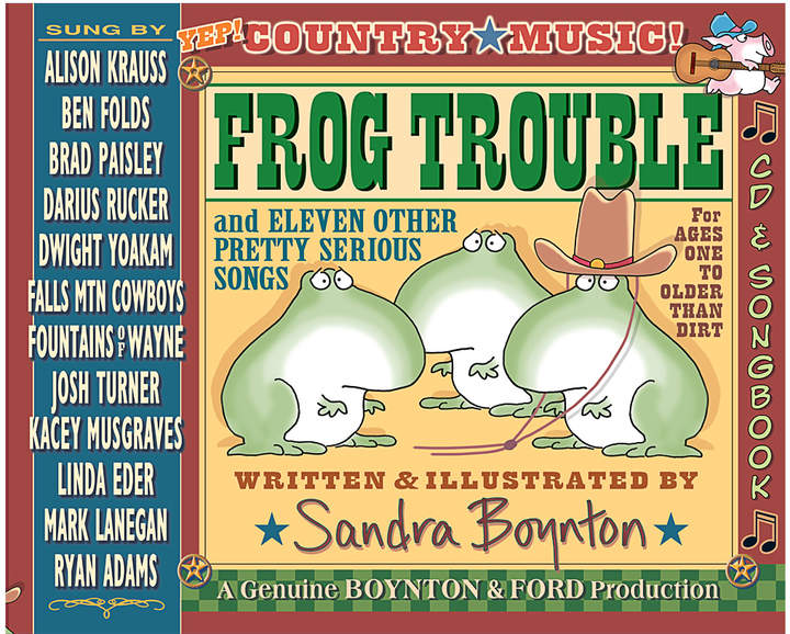 Workman Publishing Frog Trouble
