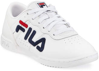 Fila Original Fitness Logo Leather Sneakers