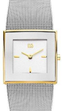 Danish Design (ダニッシュ デザイン) - Danish Design by Tirtsah iv65q973ステンレススチールホワイトダイヤルゴールドトーンBezel Ladie 's Watch