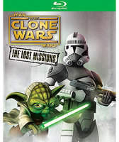 Disney Star Wars Clone Wars: The Lost Missions Blu-ray 2-Disc Set