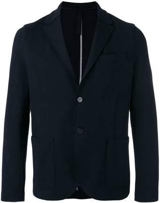 Harris Wharf London patch pockets blazer