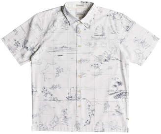 Quiksilver Waterman Men South China Patterned Shirt