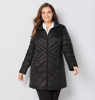 Avenue Packable Down Feather Coat