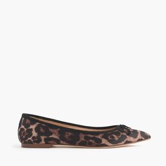 Gemma leopard flats $108 thestylecure.com