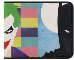 Batman DC Comics Vs Joker Bi-Fold Wallet