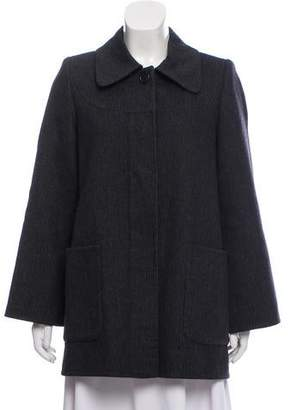 Marc Jacobs Virgin Wool Silk-Accented Jacket