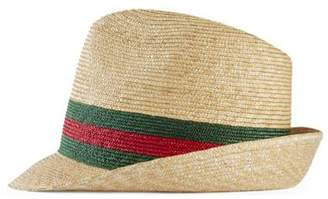 Straw Fedora Hats For Men - ShopStyle 4991a08be7d8