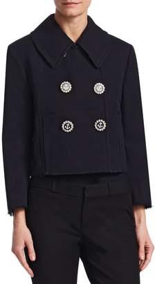 Dolce & Gabbana Women's Anchor Cotton Coat