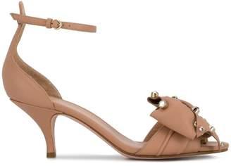 RED Valentino RED (V) embellished bow sandals