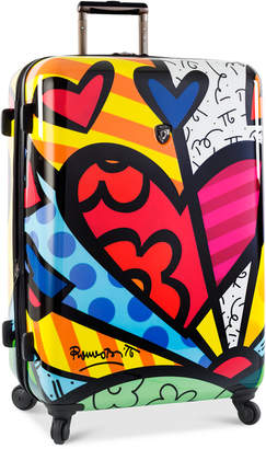 """Heys Britto New Day 30"""" Expandable Hardside Spinner Suitcase"""