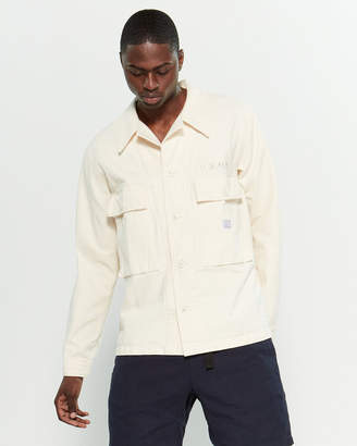 Neighborhood Natural Utility Pocket Shirt Jacket