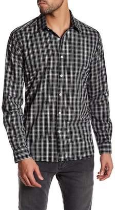 Jeff Fairfield Plaid Long Sleeve Tailored Fit Shirt