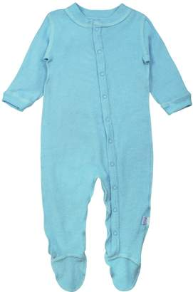 I Play I-Play Unisex-Baby Newborn Organic Knitted Terry Footie