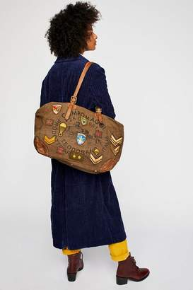 Campomaggi Matera Patched Weekender Bag
