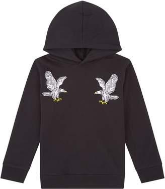 Stella McCartney Bird Embroidered Hoodie