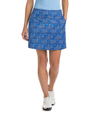 Vineyard Vines 17 Inch Palmetto Leaf Printed Skort