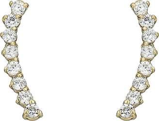 Vince Camuto Women's Cubic Zirconia Thin Stud Earrings