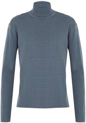 Wooyoungmi Ribbed-knit roll-neck wool sweater