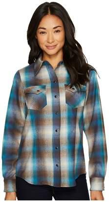 Pendleton Ranch Hand Plaid Shirt Women's Long Sleeve Button Up