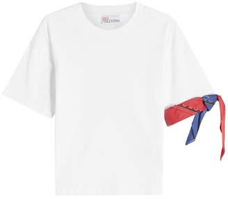 RED Valentino Bandana Cotton T-Shirt