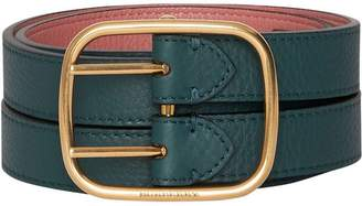 Burberry Double-strap Leather Belt